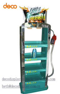 Meta Displayl Stand Pop Display Shelf for Shampoo pictures & photos