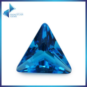 Tranglen Sea Blue Glass Stone Gemstone for Jewelry pictures & photos