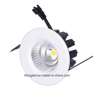 Ce RoHS SAA Certificated 5W 7W COB LED Downlight with 3 Years Warranty pictures & photos