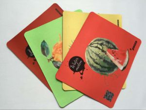 Promotional Mouse Pad with Qr Code and Logo pictures & photos