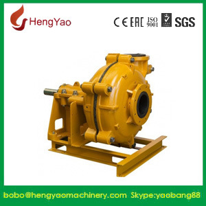 4inch Inlet 3inch Outlet High Chrome Slurry Pump for Sale