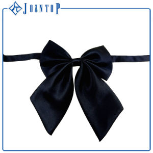 Yong Style Adjustable Lady Satin Bow Tie pictures & photos