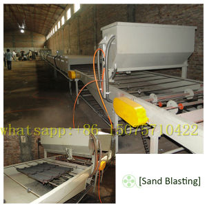 Colorful Stone Chip Coated Metal Roofing Tile Making Machine pictures & photos