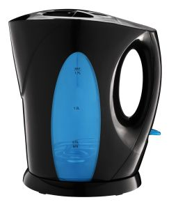 Electric Plastic Kettle 360 Degree Cordless with LED Light Fz-803 pictures & photos