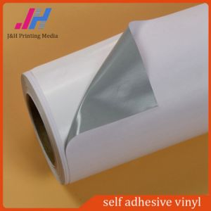 Removable Grey Glue Self Adhesive Vinyl Film pictures & photos