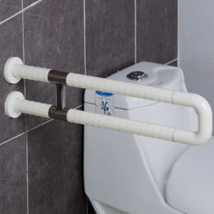 Toilet and Bathroom Stainless Steel and Nylon U-Shape Grab Bars pictures & photos