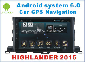 New Ui Android 6.0 Car Player for Highlander 2015 with Car GPS pictures & photos