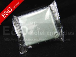 Cheap 30g Pure Natural Handmade Square Hotel Disposable Soap pictures & photos