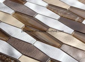 Irregular Good Quality Aluminium Metal Mosaic pictures & photos