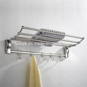 Removable Towel Shelf and Hooks for Hotel Bathroom (820) pictures & photos