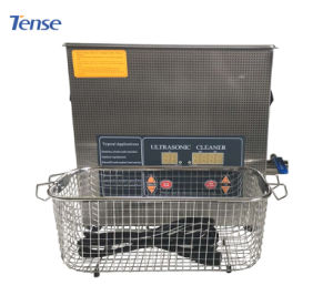 Tense Ultrasonic Record Benchtop Ultrasonic Cleaner with SUS304 Tank pictures & photos