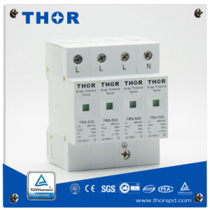 1, 2, 3, 4 Phase 20ka Electric Surge Protector pictures & photos