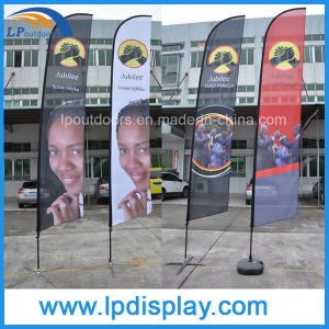 Custom Flag Printing Feather Advertising Banners for Outdoor pictures & photos