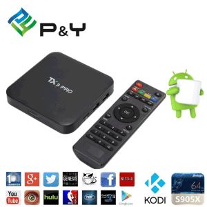 Tx3 PRO Amlogic S905X TV Box Amlogic S905X Quad Core TV Box pictures & photos
