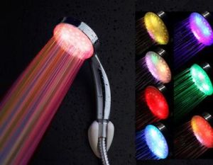 Colorful LED Shower Heads