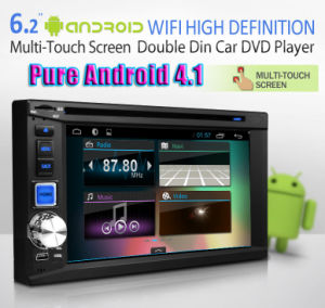 Android Car DVD with GPS with Android 4.1 System 8GB Inand Memory A9 Dual Core 1GHz (IY6202A)