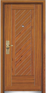 Steel Wood Entrance Door / Steel Wood Door (YF-G9058) pictures & photos