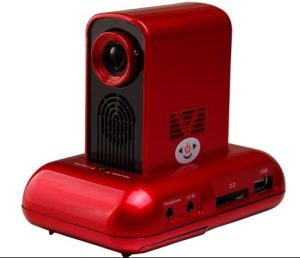 Pocket Projector with Docking Station (WB-205)