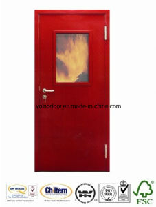 Metal Glass Fire Rated Door with Full Set UL Listed Hardware pictures & photos