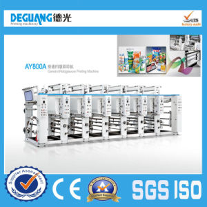 Ay800A Plastic Film Paper Gravure Printing Machine pictures & photos