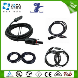 10m PV1-F 4mm2 Two Hands Solar PV Extension Cable pictures & photos