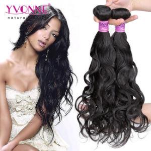 Excellent Human Hair Extension Brazilian Natural Wave Virgin Hair pictures & photos