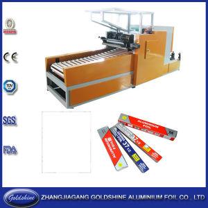 Automatic Aluminum Foil Roll Rewinding Machine (GS-AF-600) pictures & photos