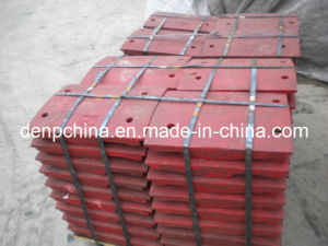 Plfc Crusher Spare Parts, Impact Plate for Sale pictures & photos