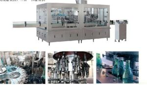 Beer in Glass Bottle Filling Machine (DRF)