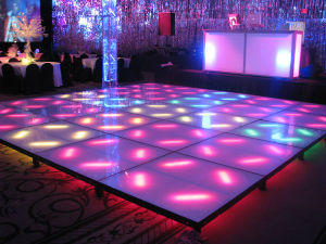 Indoor Full Color LED Stage Floor P6