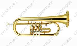 Rotary Flugelhorn (FL-200L) / Brass Instrument Flugelhorn pictures & photos