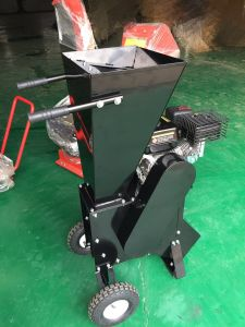 9HP Engine Wood Chipper Shredder Branches Garden Care Machine pictures & photos
