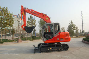 8 Tons Hydraulic Track Excavator (HT85-8) pictures & photos