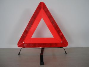 Road Traffic Car Reflecting Warning Triangle with E-MARK
