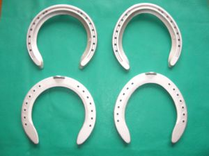 Aluminium Alloy Racing Equestrian Games Horseshoe Products pictures & photos