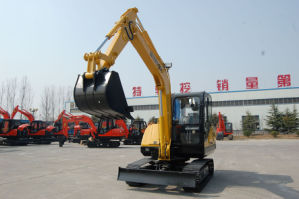 Medium-Sized Bucket Excavator for Sale (HT65-8) pictures & photos