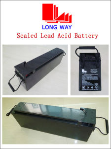 VRLA Battery Front Terminal Battery UPS Battery Deep Cycle Battery 12V75ah pictures & photos