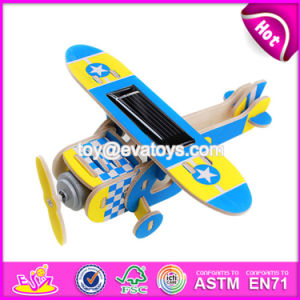 New Design DIY Assemble Children Wooden Toy Airplanes W03b065 pictures & photos
