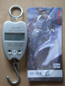 Portable Digital Hanging Scale Electronic Mini Luggage Weight Balance pictures & photos
