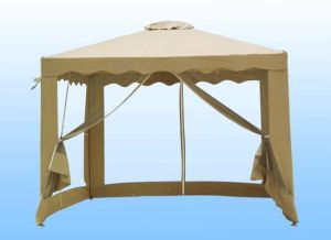 GA-3X3-M 3 x 3 Meter Polyester Gazebo with Mosquito Net
