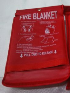 Kitchen Fire Blanket (1mx1m, 1.2mx1.2m)