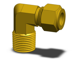 CP Series Brass Compression Fittings (Series CPHL)
