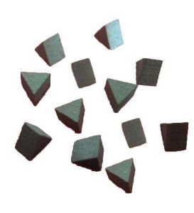 Triangle Shaped Tsp Diamond