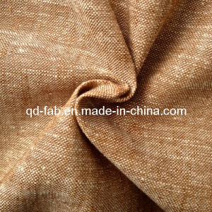 Cotton/Linen Yarn Dyed Fabric (QF13-0744) pictures & photos