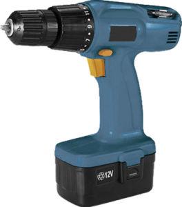 Blue Color 12V Cordless Drill 2 Hpb Battery Charger and Storage Bag Bundle (WAB21101)