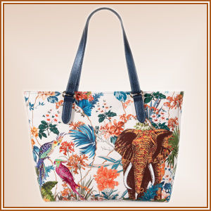 Fashion Canvas Digital Print Bag pictures & photos