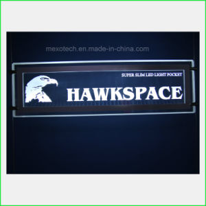 Customized LED Edge-Lit Advertising Board Sign Board pictures & photos