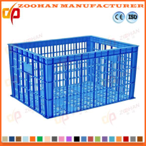 Strong Plastic Vegetable Storage Container Fruit Logistics Turnover Basket (Zhtb14) pictures & photos