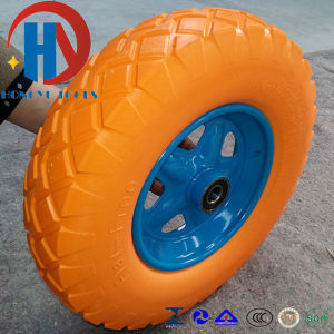 Garden and Cement Floor Flat Free PU Foam Wheels pictures & photos
