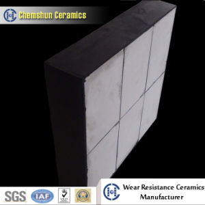 Indusrial Ceramic Chute Tile Liner with Stud (500*500*25 mm) pictures & photos